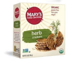 HERB CRACKERS 6/6.5 Oz.