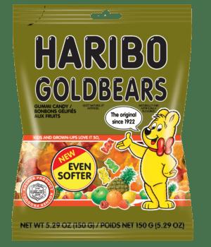 GOLD BEARS 24/5.29 Oz.