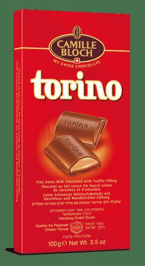 TORINO SWISS MILK CHOCOLATE 18/3.5 Oz.