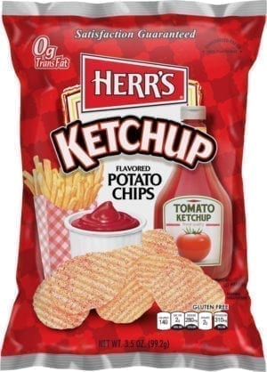 KETCHUP POTATO CHIPS 16/3.5oz