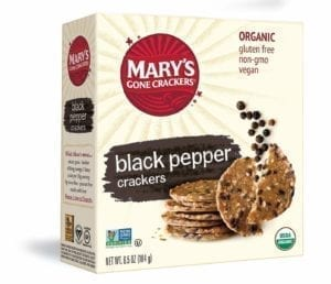 BLACK PEPPER CRACKERS 6/6.5 Oz.