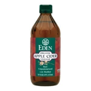 APPLE CIDER VINEGAR, ORGANIC 12/16 Oz.