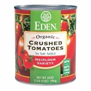 CRUSHED TOMATOES, ORGANIC 12/28 Oz.