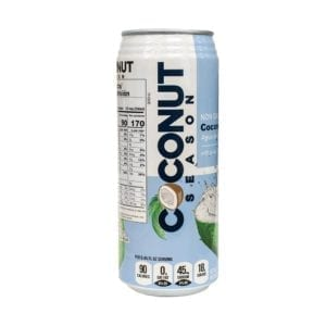 COCONUT SEASON WATER with PULP 24/16.9 Oz.