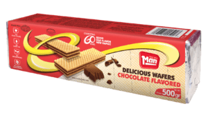 CHOCOLATE FLAVORED WAFERS 12/17 Oz.