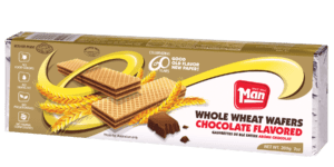 CHOCOLATE (WHOLE WHEAT) FLAVORED WAFERS 12/7 Oz.