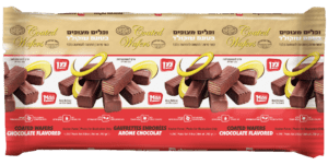 CHOCOLATE COATED FLAVORED WAFERS 12/8.8 Oz.