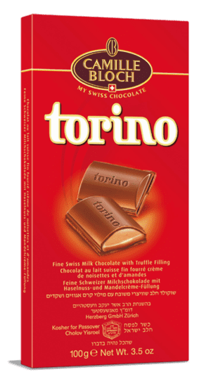 TORINO SWISS MILK CHOCOLATE 18/3.5 Oz.